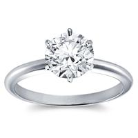 Diamantringe 1 karat  Diamantringe & Brillantringe günstig online kaufen - Queen Diamond ...
