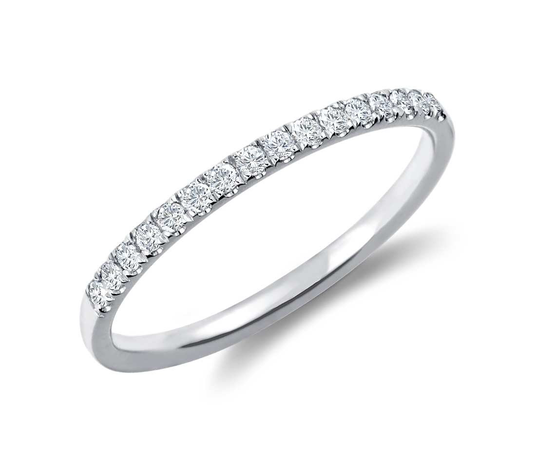 Original Empire 0,15 ct DIAMANTBANDRING MIT MEHREREN DIAMANTEN