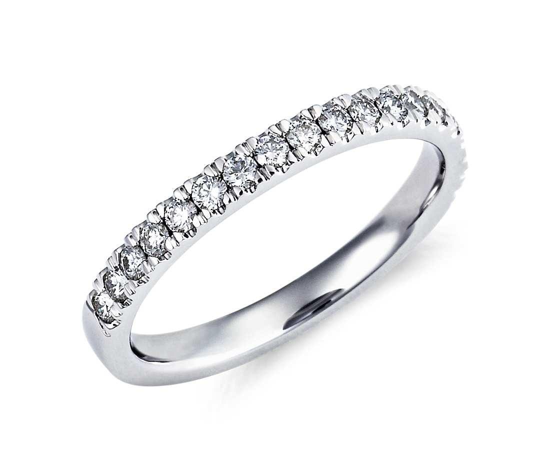 Original Empire 0,33 ct Diamantband-Ring in Weißgold
