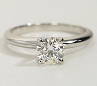 The Great 1884 - 0,70 ct Diamantring in Weissgold - sofort verfügbar