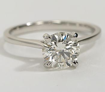 Original Empire 1,00 ct Diamantring in Weissgold - sofort verfügbar