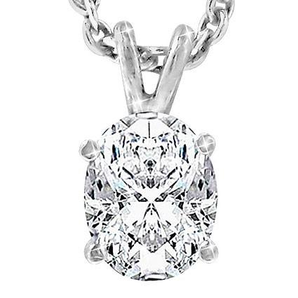 Original Empire 0,30 ct Diamantanhänger in Weißgold