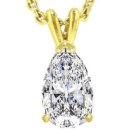 The Great 1884 1,50 ct Diamantanhänger in Gelbgold
