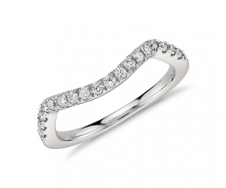 Original Empire 0,20 ct DIAMANTBANDRING MIT MEHREREN DIAMANTEN