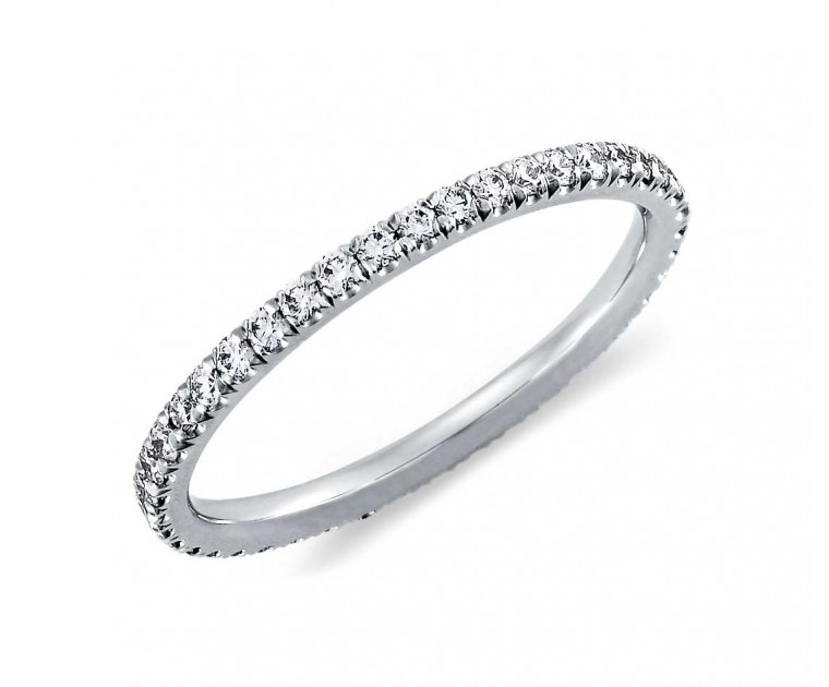 Original Empire 0,70 ct DIAMANTBANDRING MIT MEHREREN DIAMANTEN