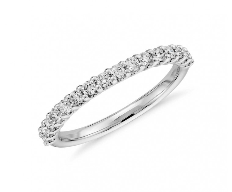 Original Empire 0,35 ct DIAMANTBANDRING MIT MEHREREN DIAMANTEN