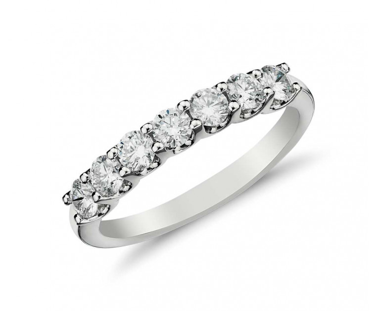 Original Empire 0,48 ct DIAMANTBANDRING MIT MEHREREN DIAMANTEN