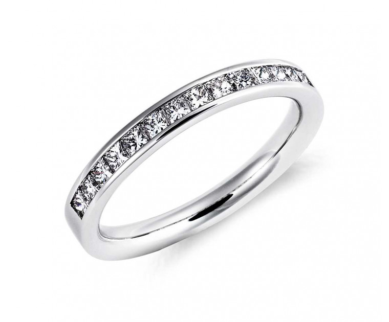 Original Empire 0,49 ct DIAMANTBANDRING MIT MEHREREN DIAMANTEN