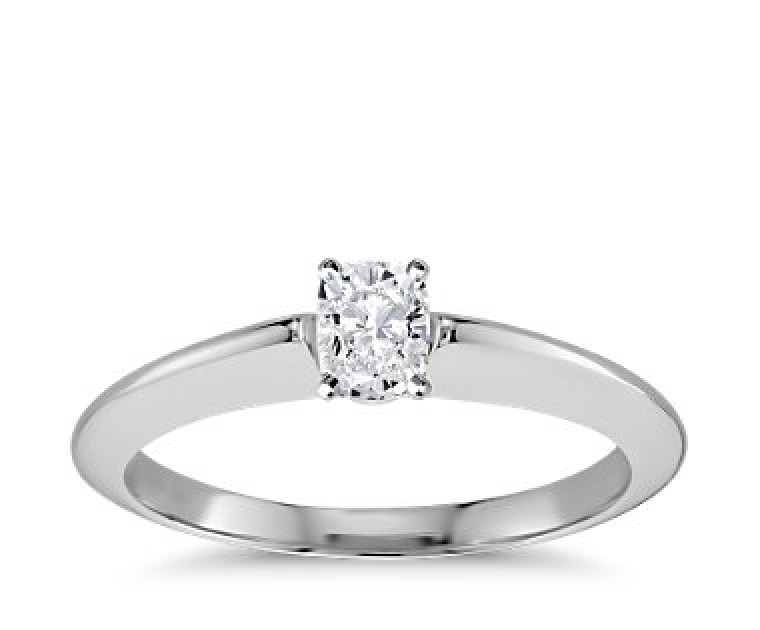 The Great 1884 - 0,50 ct Diamantring in Weissgold