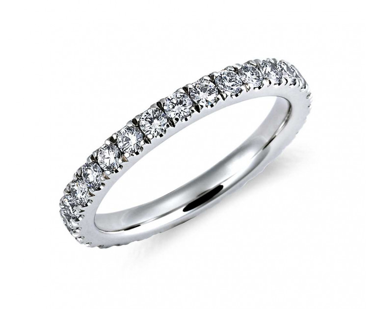 Original Empire 0,95 ct DIAMANTBANDRING MIT MEHREREN DIAMANTEN