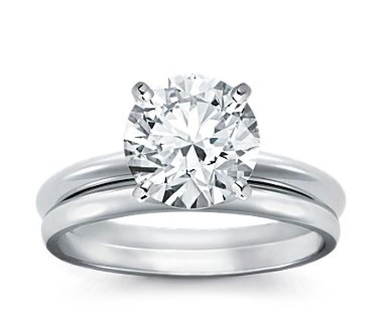 Original Empire 4,00 ct Diamantring in Weissgold