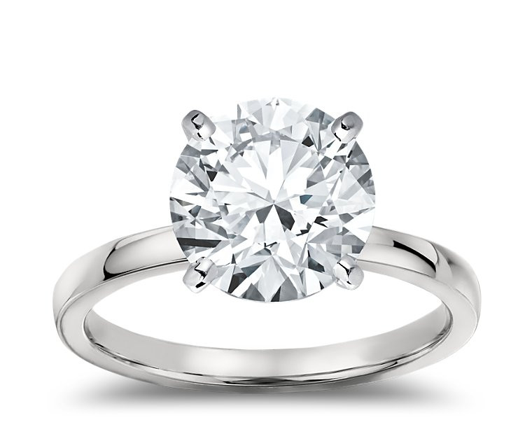 The Great 1884 - 5,00 ct Diamantring in Weissgold
