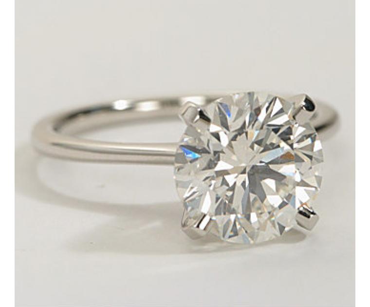 Original Empire 5,23 ct Diamantring in Weissgold - sofort verfügbar