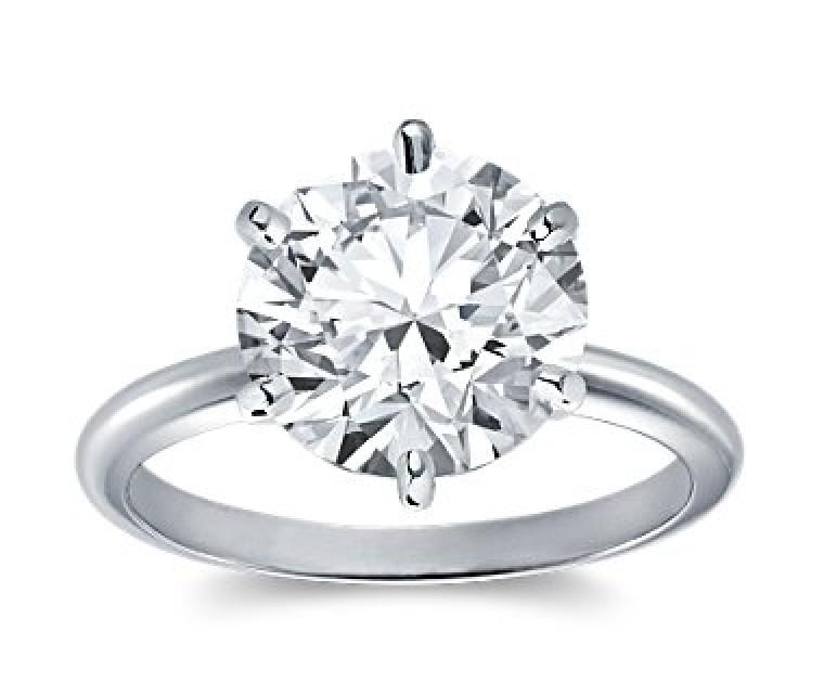 Original Empire 5,00 ct Diamantring in Weissgold
