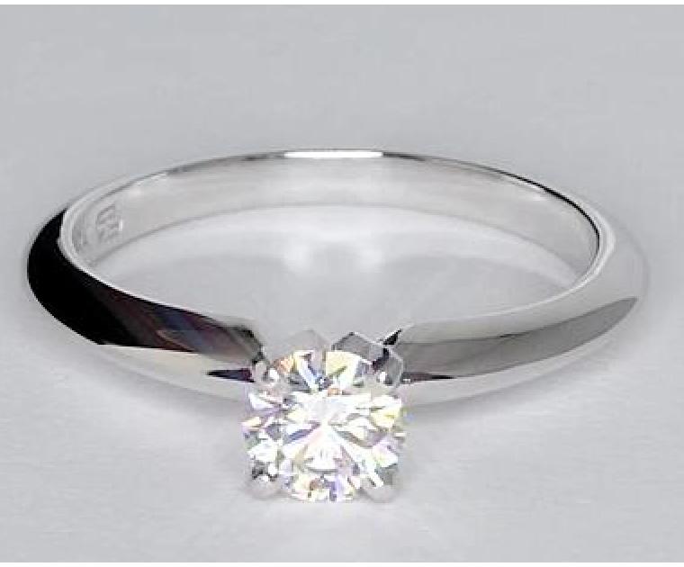 Original Empire 0,20 ct Diamantring in Weissgold - sofort verfügbar