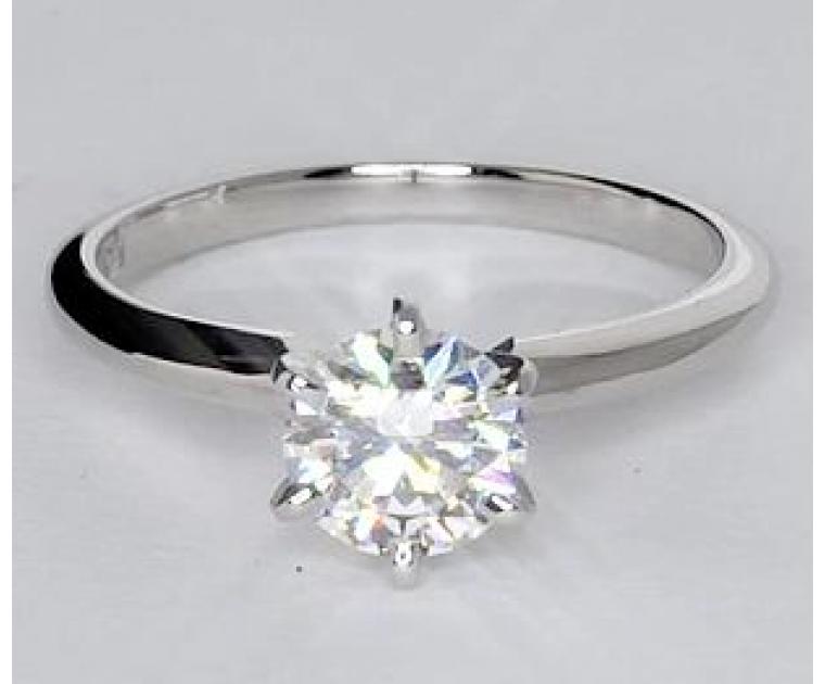 Original Empire 0,50 ct Diamantring in Weissgold - sofort verfügbar