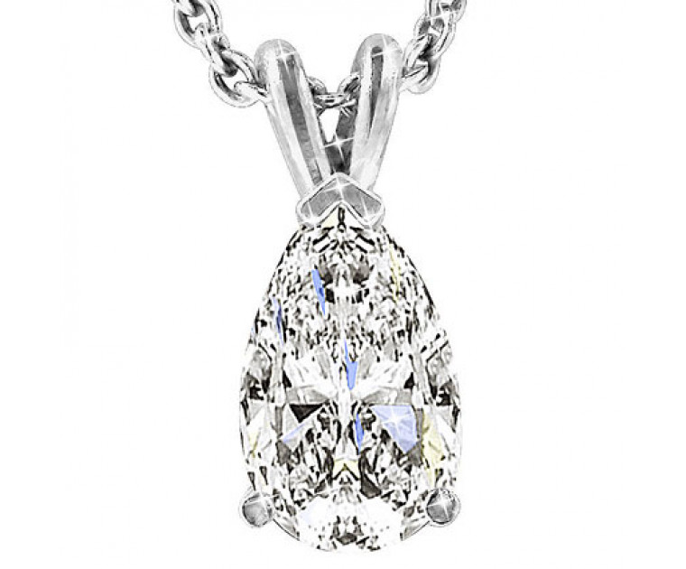 The Great 1884 1,00 ct Diamant Anhänger in Weissgold